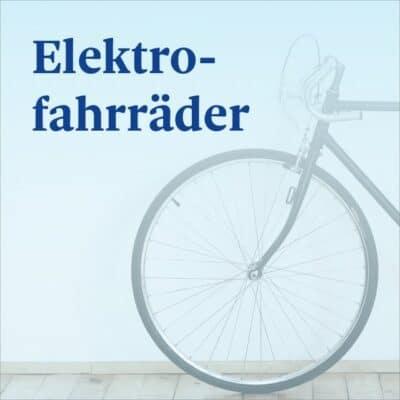 Elektrofahrräder