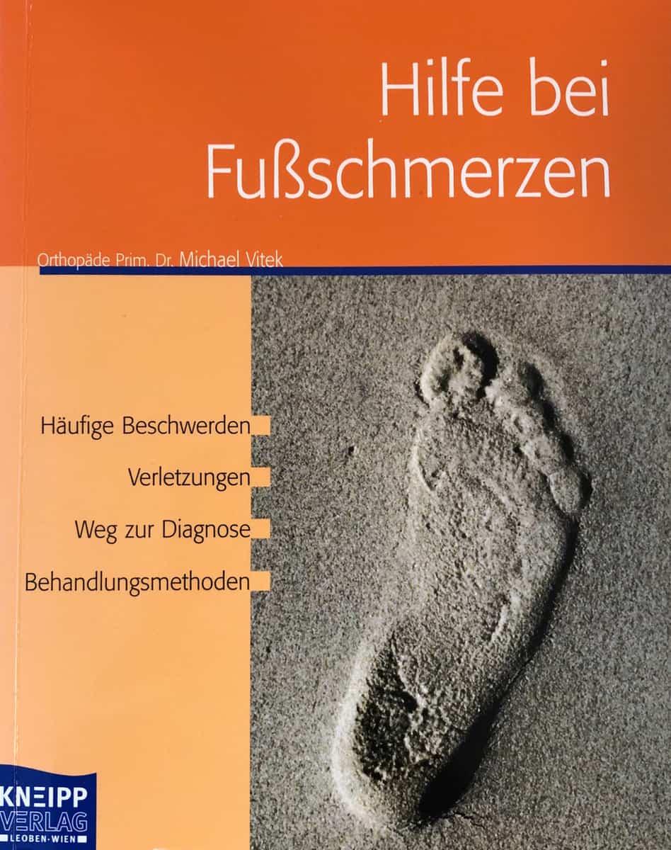 """Buch: """"Hilfe bei Fußschmerzen"""""""